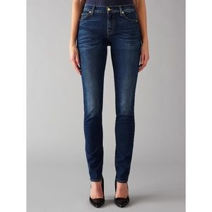 7 For All Mankind Roxanne Dark Wash Jeans • i19x